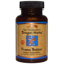 Dragon Herbs, Укрепление скелета тела, 500 мг, 100 капсул