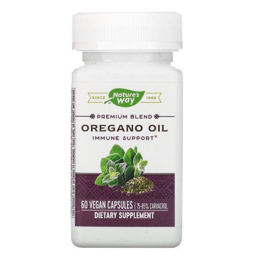 Nature's Way, Стандартизированное масло орегано, 60 капсул
