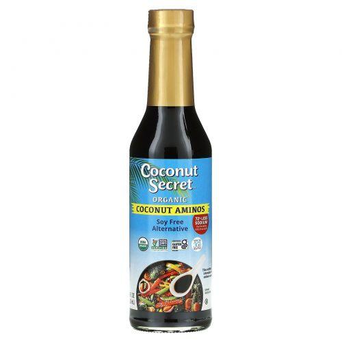Coconut Secret, Соус, аминокислоты сырого кокоса, без сои, 8 жидких унций (237 мл)