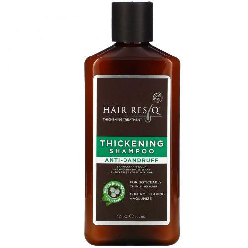 Petal Fresh, Hair Rescue Thickening Treatment, Anti Dandruff Shampoo, 12 fl oz (355 ml)