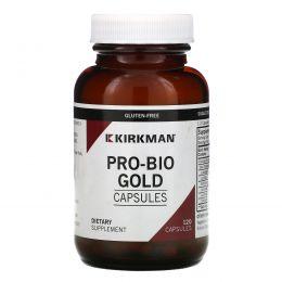 Kirkman Labs, Про Био Голд, гипоаллергенный, 120 капсул (Ice)