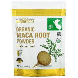 California Gold Nutrition, Суперпродукты, органический порошок маки, 8,5 унц. (240 г)
