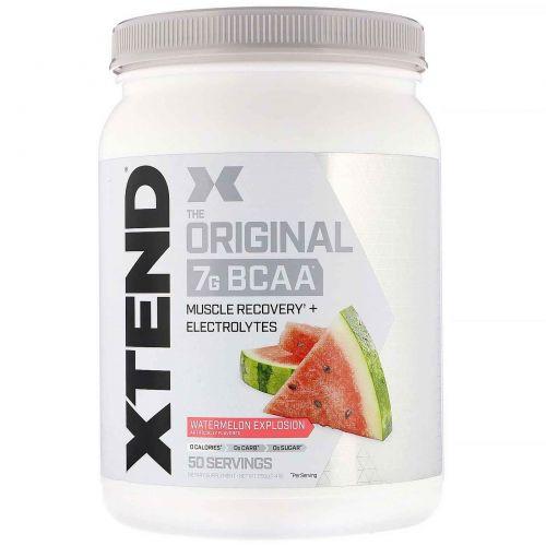 Scivation, Xtend, The Original 7g BCAA, Watermelon Explosion, 1.4 lb (650 g)