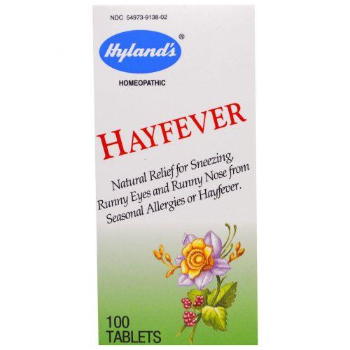Hyland's, От аллергии на пыльцу 100 таблеток