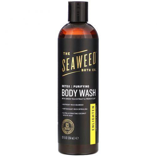 Seaweed Bath Co., Purifying Detox Body Wash, Enlighten, Lemongrass, 12 fl oz (354 ml)