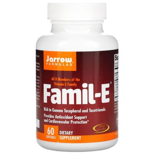 Jarrow Formulas, Famil-E, 60 капсул