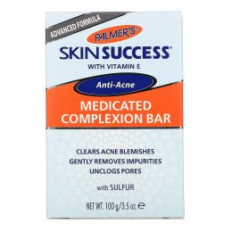 Palmer's, Лечебное мыло от угревой сыпи Skin Success, 100 г