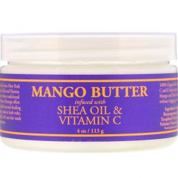 Nubian Heritage, Mango Butter Infused with Shea Oil & Vitamin C, 4 oz (113 g)