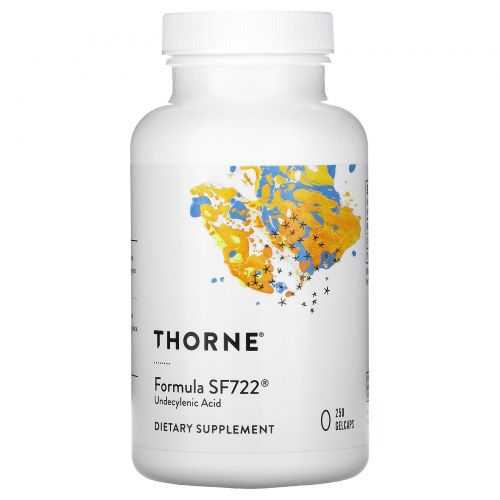 Thorne Research, Formula SF722, 250 Gelcaps
