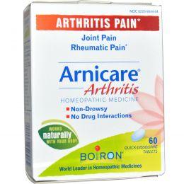 Boiron, Arnicare, при артрите, 60 быстрорастворимых таблеток
