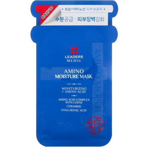 Leaders, Mediu, Amino Moisture Mask, 1 Mask (25 ml)
