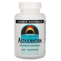 Source Naturals, Астаксантин, 2 мг, 120 капсул