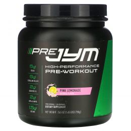 JYM Supplement Science, High-Performance Pre-Workout, Pink Lemonade, 26.5 oz (750 g)