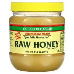 Y.S. Eco Bee Farms, Неочищенный мед, 396 г (14,0 унций)