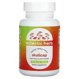 Eclectic Institute, Шлемник широколистный, 350 мг, 90 растительных капсул без ГМО