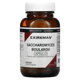 Kirkman Labs, Сахаромицеты Буларди, 100 капсул (Ice)