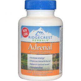 Ridge Crest Herbals, Adrenal, Fatigue Fighter, 60 Veggie Caps