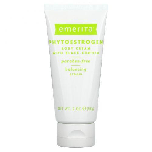 Emerita, Крем для тела с фитоэстрогенами, 2 унции (56 г)