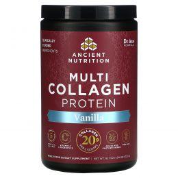 Dr. Axe / Ancient Nutrition, Multi Collagen Protein, Vanilla, 16.8 oz (475 g)