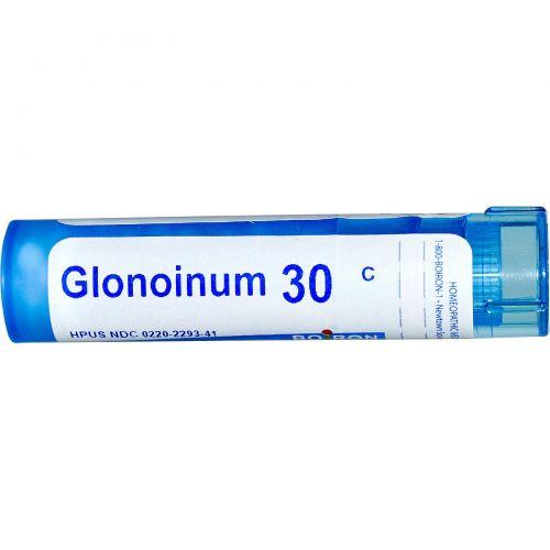 Boiron, Single Remedies, Глоноинум, 30C, прибл. 80 гранул