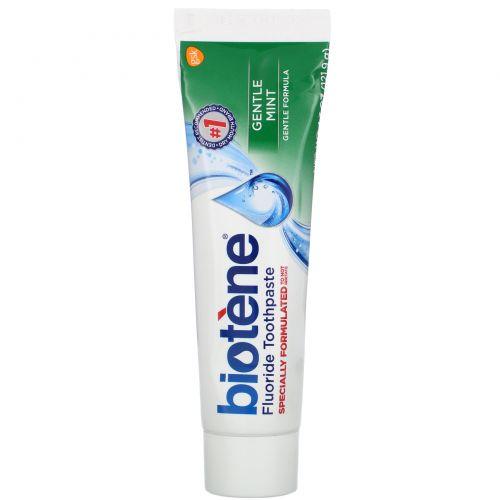 Biotene Dental Products, Фтористая зубная паста Gentle Formula, 121,9г
