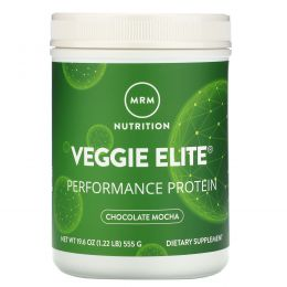 MRM, Smooth Veggie Elite Performance Protein, Chocolate Mocha, 19.6 oz (555 g)