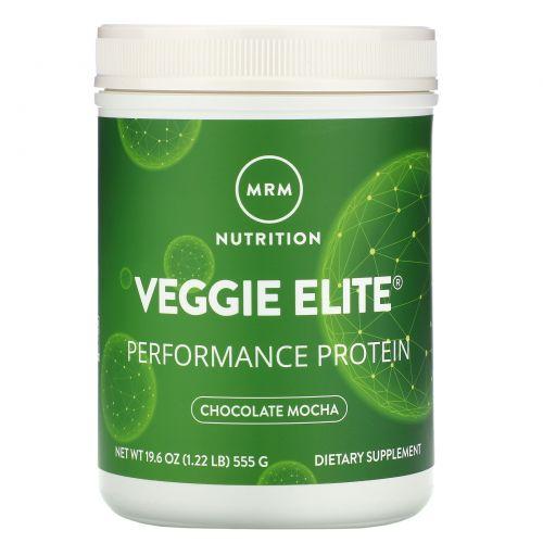 MRM, Smooth Veggie Elite Performance Protein, Chocolate Mocha, 19.6 oz (555 g)