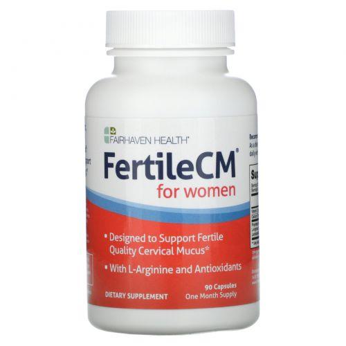 Fairhaven Health, FertileCM, 90 Растительные капсулы