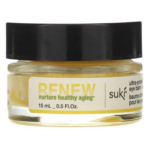 Suki Inc., Renew, ультразащищающий бальзам для глаз, ночной, 0.5 жидких унций (15 мл)