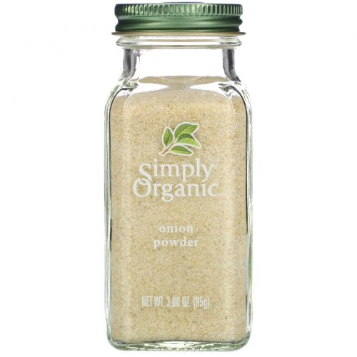 Simply Organic, Луковый порошок, 3 унции (85 г)
