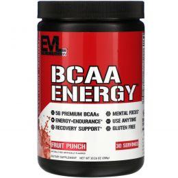 EVLution Nutrition, BCAA Energy, фруктовый пунш, 10,2 унц. (288 г)