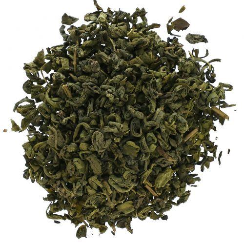 Starwest Botanicals, Цельный зеленый жемчужный чай, натуральный, 1 фунт