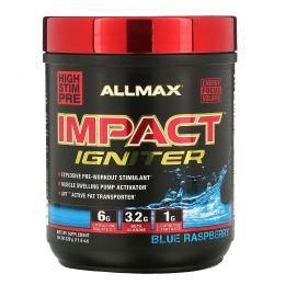 ALLMAX Nutrition, IMPACT Igniter, предтренировочный комплекс, цитруллина малат + ацетилцистеин (NAC), голубика, 328 г (11,6 унций)
