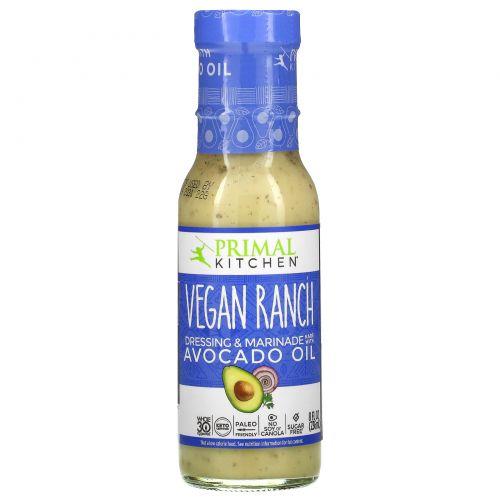 Primal Kitchen, Vegan Ranch Dressing & Marinade Made with Avocado Oil, 8 fl oz (236 ml)