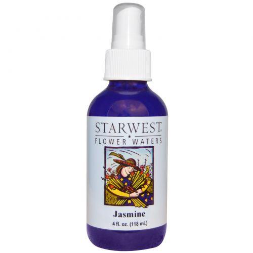 Starwest Botanicals, Цветочные воды, жасмин, 4 жидк. унц. (118 мл)