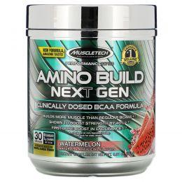 Muscletech, Amino Build Next Gen, Watermelon, 9.74 oz (276 g)
