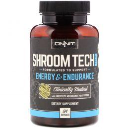 Onnit, Спортивная добавка Shroom Tech Sport, энергия и выносливость, 84 капсулы