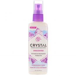 Crystal Body Deodorant, Дезодорант-спрей для тела, 4 oz (118 мл)