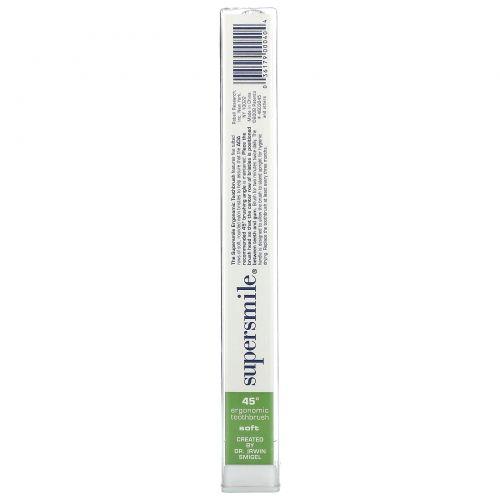 Supersmile, New Generation, 45 Ergonomic Toothbrush, Soft, 1 Toothbrush