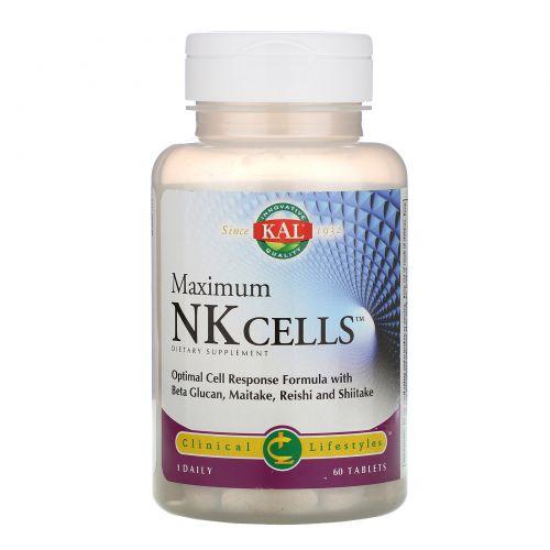 KAL, Maximum NK Cells, 60 Tablets