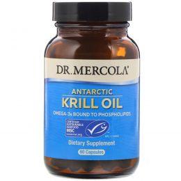 Dr. Mercola, масло криля, 60 капсул