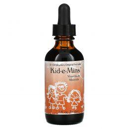 Christopher's Original Formulas, Kid-e-Mins, витамины и минералы, 2 жидкий унции