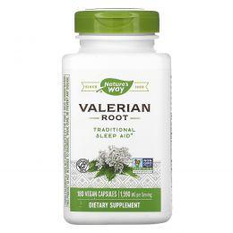 Nature's Way, Корень валерианы, 530 мг, 180 капсул