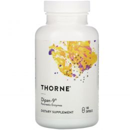 Thorne Research, Dipan-9, 180 вегетарианских капсул
