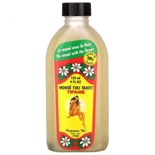 Monoi Tiare Tahiti, Масло монои с цветами тиаре, 120 мл
