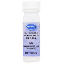 Hyland's, Сумах ядоносный. 30X, от болей при артрите, 250 таблеток
