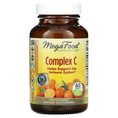 MegaFood, Complex C, 60 таблеток