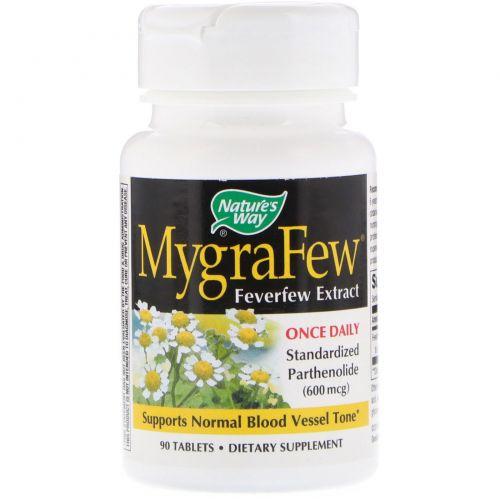 Nature's Way, MygraFew, 90 таблеток