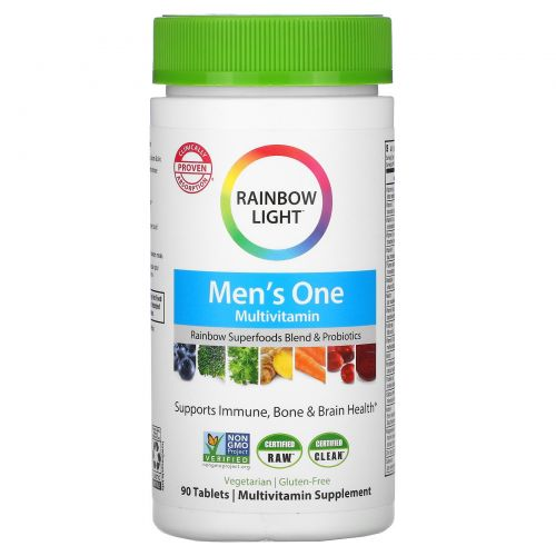 Rainbow Light, Men's One, 90 таблеток
