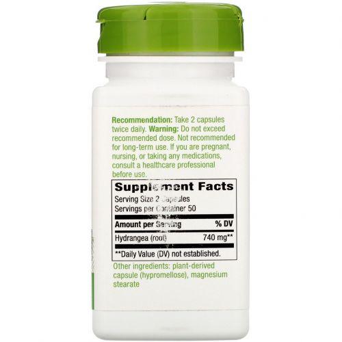 Nature's Way, Корень гортензии, 370 мг, 100 капсул
